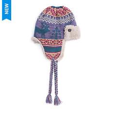 MUK LUKS Women's Fairisle Fantasy Trapper Hat
