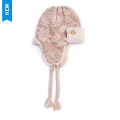 MUK LUKS Women's Rose Gold Trapper Hat