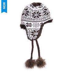 MUK LUKS Women's Winter Solstice Reversible Helmet Hat