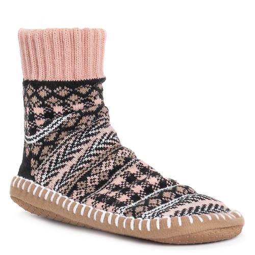 MUK LUKS Women's Short Slipper Sock