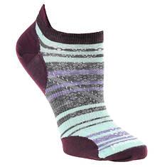 Smartwool PhD Run Ultra Light Stripe Micro Socks (Women's)