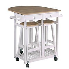 Kitchen Trolley with Stools