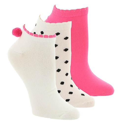 Betsey Johnson 3-Pack Super Soft Low-Cut Socks