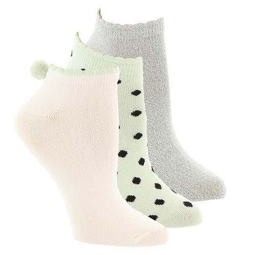 Betsey Johnson 3-Pack Super Soft Low-Cut Socks