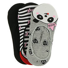 Betsey Johnson 3-Pack Patterned Footies