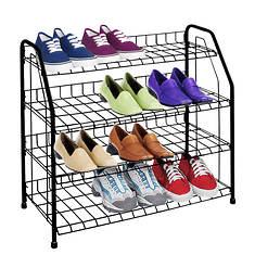 4-Tier Shoe Shelf
