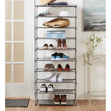 Home Basics 30-Pair Shoe Organizer