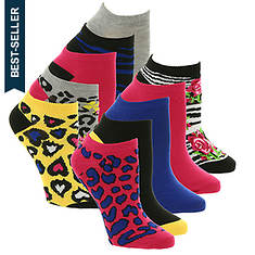 Betsey Johnson 10-Pack Patterned Lowcut Socks