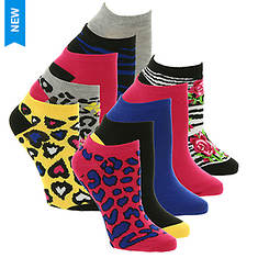 Betsey Johnson 10PK Patterned Lowcut Socks