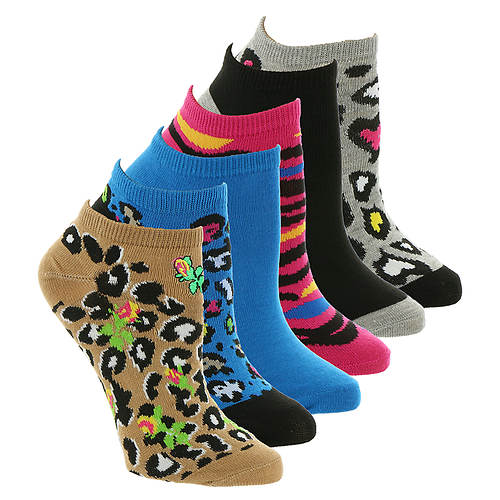 Betsey Johnson 6-Pack Embellished Lowcut Socks