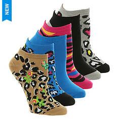 Betsey Johnson 6PK Embellished Lowcut Socks
