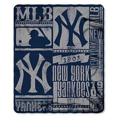 MLB Fleece Throw