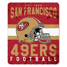 NFL Fleece Throw
