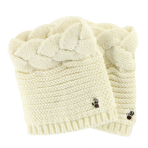 BEARPAW Cable Knit Boot Topper (Women's)
