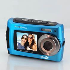 Bell+Howell 2-View Waterproof Dual-Screen HD Camera