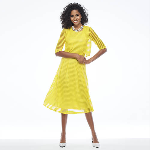 A-Line Lace Dress and Bolero Jacket