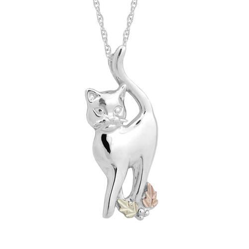 Black Hills Gold Cat Necklace (Women's)