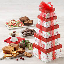 Holiday Cheer Bakery Tower