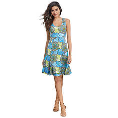 Go Figure Fit-And-Flare Dress
