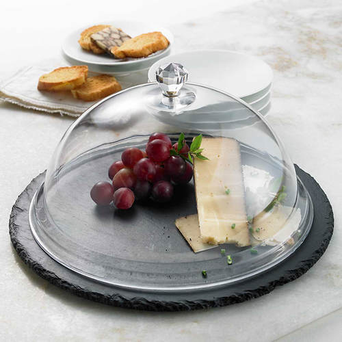 Slate Cheese Platter & Dome