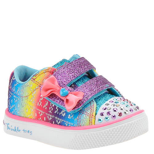 Skechers Twinkle Toes: Twinkle Breeze 2.0-Colorful Crochets (Girls' Infant-Toddler)