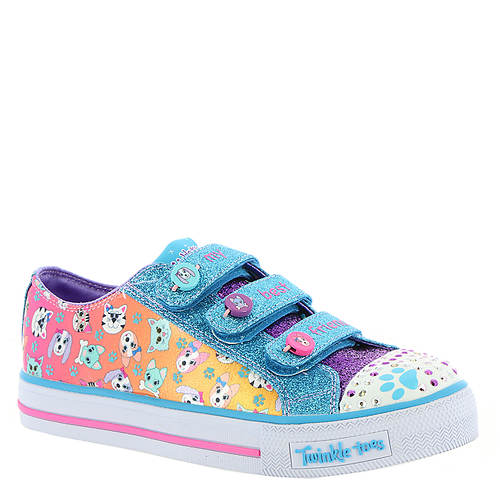 84bcb6e069ba Skechers Twinkle Toes  Shuffles-Paw Party (Girls  Toddler-Youth ...