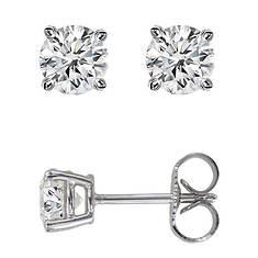 14K 10CT Diamond Stud Earring