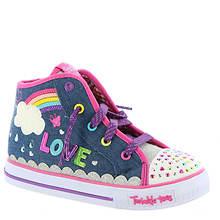 Skechers Twinkle Toes: Shuffles-Sparkle Skies 10874N (Girls' Infant-Toddler)