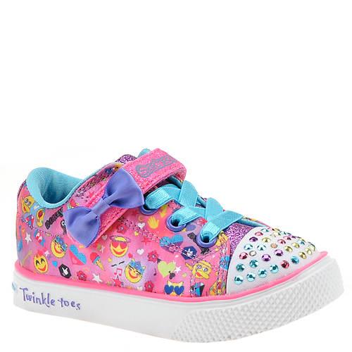Skechers Twinkle Toes: Twinkle Breeze 2.0-Emoji 10926N (Girls' Infant-Toddler)
