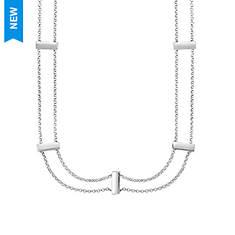 Sterling Silver Shiny Choker Necklace