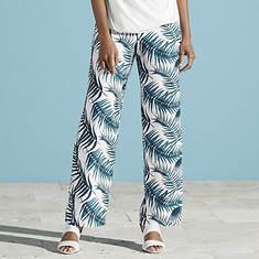 Palm Print Pant