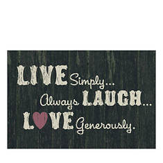 Live, Laugh, Love Doormat