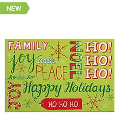 Christmas Words Doormat