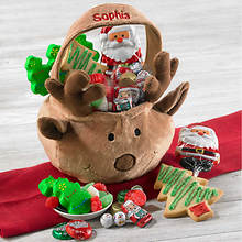 Personalized Reindeer Tote - Tote & Treats