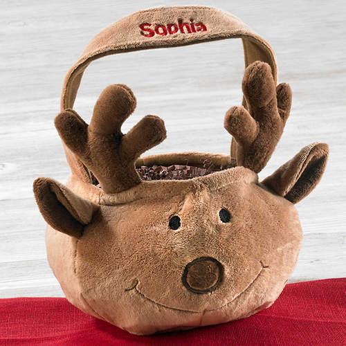 Personalized Reindeer Tote