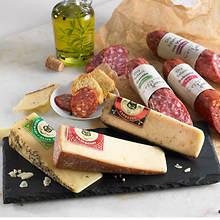 Artisan Cheese & Salami With Free Slate Cutting Board