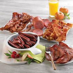 Breakfast Meats Smorgasbord