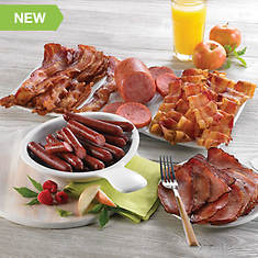 Breakfast Meats Smorgasbord