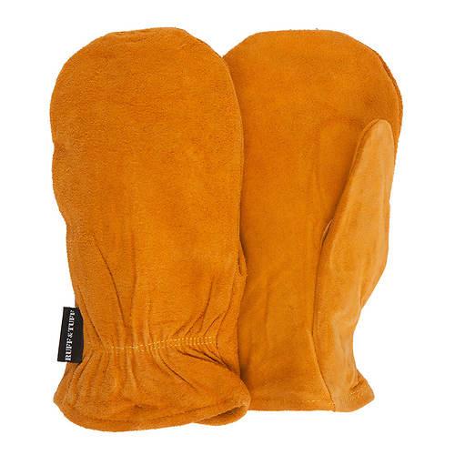 Quiet Wear Men's 40gm Leather Mitten