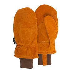 Quiet Wear Men's  100gm Leather Mitten
