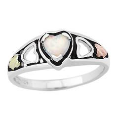 Black Hills Gold Opal Heart Ring (Women's)