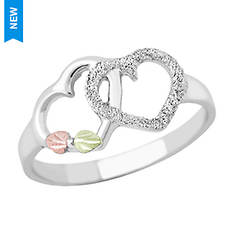 Black Hills Gold Double Heart Ring (Women's)