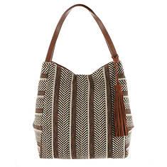 Lucky Brand Sari Fabric Tote Bag