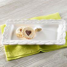 Lace Elegance Serving Platter