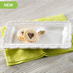Lace Elegance Serving Platter