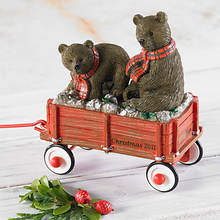 2017 Limited Editon Red Wagon Ornament