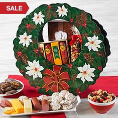 Elegant Holiday Wreath of Treats