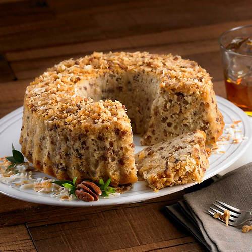 Bourbon Pecan Cake
