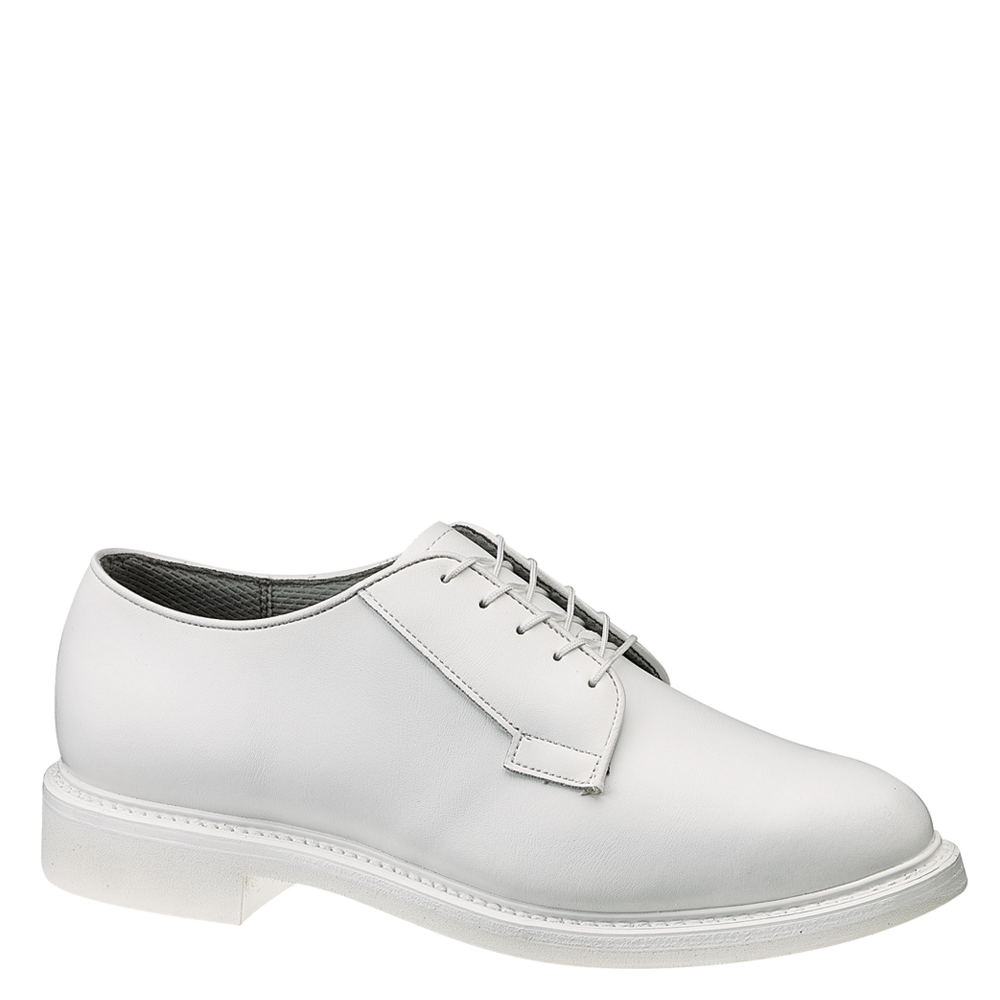 Mens Retro Shoes | Vintage Shoes & Boots Bates Lites Leather Oxford Mens White Oxford 9 E3 $169.95 AT vintagedancer.com