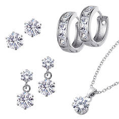 CZ Earring Collection